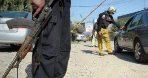 چارسدہ: پولیس موبائل پر بم حملہ، اہلکاروں سمیت 16 افراد زخمی