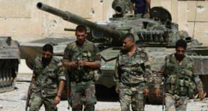 حلب: باغیوں کےاہم گڑھ پر حکومتی فوج کا قبضہ
