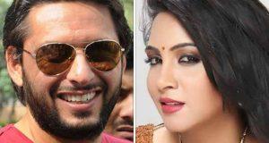 عرشی خان کی آفریدی کو ٹیم میں شامل نہ کرنے پربرہنہ احتجاج کی دھمکی