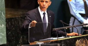 اسرائیل مستقل طورپر فلسطینی سر زمین پر قبضہ برقرار نہیں رکھ سکتا، اوباما