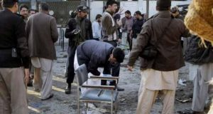 مردان ضلع کچہری پر حملے میں ملوث 5 دہشت گرد گرفتار