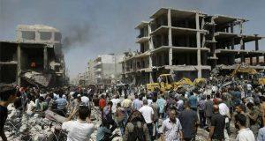 روسی اور شامی فوج کی حلب میں بمباری، مزید 34 افراد جاں بحق