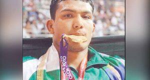 ایشین بیچ گیمز؛ پاکستانی ریسلرمحمد انعام بٹ نے  گولڈ میڈل جیت لیا