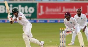 پاکستانی ٹیم دوسری اننگز میں 123رنز پر آؤٹ، ویسٹ انڈیز کو جیت کیلیے 346 رنز درکار