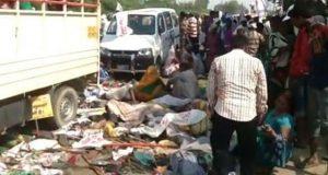 بھارتی شہر واراناسی میں ہندوؤں کی مذہبی تقریب میں بھگدڑ سے 19 افراد ہلاک