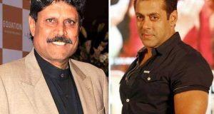 سلمان خان فلم میں سابق بھارتی کپتان کپل دیو کے روپ میں نظر آئیں گے
