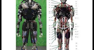 انسانوں کی طرح پسینہ خارج کرنے والا روبوٹ