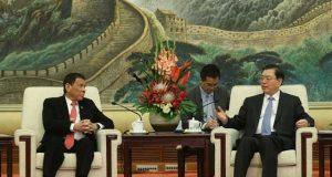 فلپائن کا امریکا سے تعلقات ختم کرکے چین سے استوار کرنے کا اعلان