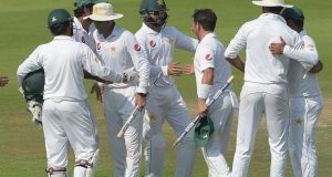 پاکستان نے ویسٹ انڈیز کو شکست دیکر ٹیسٹ سیریز بھی اپنے نام کرلی