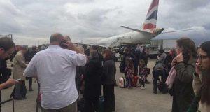 تخریب کاری کا خدشہ؛ لندن کا سٹی ایئرپورٹ مسافروں سے خالی کرالیا گیا
