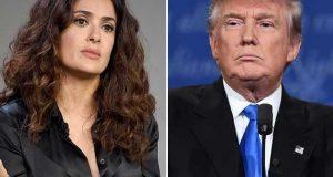 ہالی ووڈ اداکارہ سلمیٰ ہائیک کا ڈونلڈ ٹرمپ پر ہراساں کرنے کا الزام