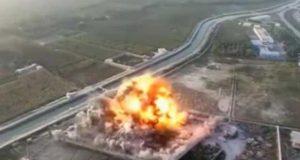 طالبان نے افغان پولیس کیمپ پر حملے کی ڈرون کیمرے سے بنی ویڈیو جاری کردی