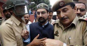 قابض بھارتی فوج نے حریت رہنما میرواعظ عمر فاروق کو حراست میں لے لیا