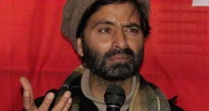 قابض بھارتی فوج نے حریت رہنما یاسین ملک کو 4 ماہ بعد رہا کردیا