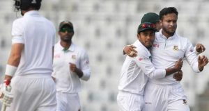 بنگلا دیش نے دوسرے ٹیسٹ میں انگلینڈ کو شکست دیکر سیریز 1-1 سے برابر کردی
