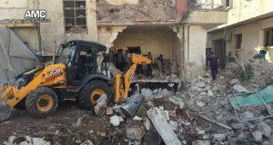 شامی شہر حلب میں ہسپتال پر ایک بار پھر' فضائی بمباری'