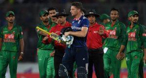 'نازیبا زبان کے استعمال' پر بنگلہ دیش کے دو کھلاڑیوں پر جرمانہ، بٹلر کی سرزنش