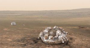 یورپی خلائی جہاز کو مریخ پر گرد کے طوفان کا سامنا