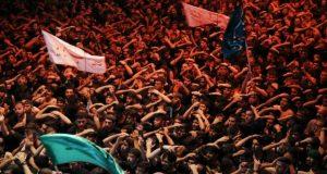 تہران: فٹبال میچ میں محرم کی مناسبت سے نعروں کی ہدایت