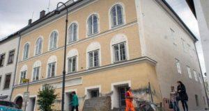 ہٹلر کے گھر کو گرانے کا فیصلہ
