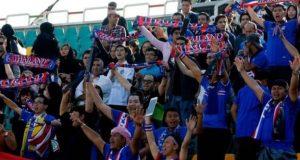 فٹبال میچ میں نعرے بازی اور جشن پر پابندی