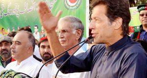 کوئی صحت مند معاشرہ کسی کرپٹ آدمی کو اپنا سربراہ نہیں بناتا، عمران خان