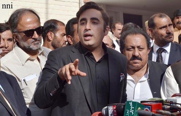 کوئٹہ: پاکستان پےپلزپارٹی کے چےئرمےن بلاول بھٹو زرداری مےڈےا سے گفتگو کرررہے ہیں