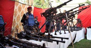 کراچی کو بہت بڑی تباہی سے بچا لیا گیا ہے، واٹر ٹینک سے اسلحے کی بڑی کھیپ برآمد، ایم کیو ایم ملوث