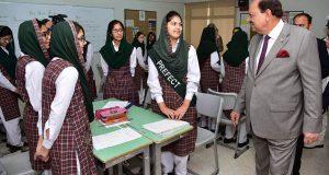 پاکستانی نو جوان اپنے آپ کو جدید تعلیم سے آراستہ کریں ، ممنون حسین