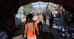 عراق :مجلس عزا میں خودکش دھماکا،55 افراد ہلاک