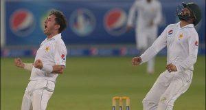 دبئی ٹیسٹ: دلچسپ مقابلے کے بعد پاکستان 56 رنز سے جیت گیا