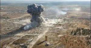 شام :حلب میں فضائی حملہ،23 افراد ہلاک