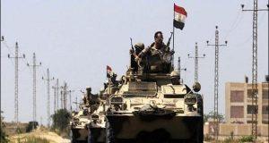 مصری فوج کی دہشتگردوں سے جھڑپیں،8 اہلکار ہلاک