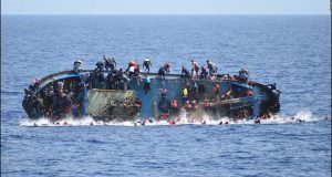 لیبیا قریب مہاجرین کی کشتی ڈوب گئی،9جاں بحق