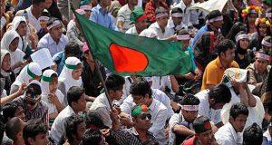 سوشل میڈیا پر مقدس مقامات کی توہین پربنگلا دیش میں احتجاج