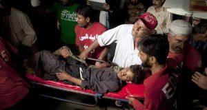 حب درگاہ شاہ نورانی میں دھماکہ 52زائرین جاں بحق متعدد زخمی