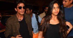 شاہ رخ خان نے بیٹی کا بوسہ لینے والوں کو سخت تنبیہ کردی