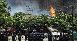 میانمارفوج کی وحشیانہ کارروائی میں 30 روہنگیا مسلمان جاں بحق