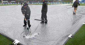 پاکستان اور نیوزی لینڈ کے درمیان ہیگلے ٹیسٹ کے پہلے روز کا کھیل بارش کے باعث منسوخ