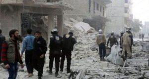شام ، بچوں کے ہستپال پر بمباری، 5بچوں سمیت 32افراد ہلاک