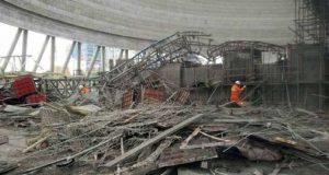 چین میں زیر تعمیر پلیٹ فارم گرنے سے 40 افراد ہلاک