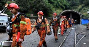 چین: کوئلے کی کان میں پھنسے 33 کان کنوں کی ہلاکت کی تصدیق