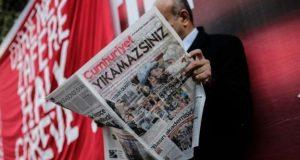 ترکی میں جمہوریت اخبار کے نو صحافی زیرِ حراست