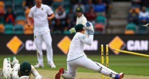 ہوبارٹ ٹیسٹ: آسٹریلیا اپنے ہی میدان پر 85 رنز پر ڈھیر