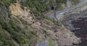 نیوزی لینڈ میں زلزلے سے ہونے والی تباہی