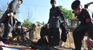پشاور میں دھماکہ،3ایف سی اہلکار شہید، راہگیر زخمی