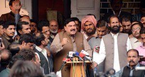 جوڈیشل کمیشن کی بات ہوئی تو عوامی لیگ اپنے ٹی او آر دیگی، شیخ رشید