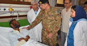 سانحہ شاہ نورانی شہداءکی تعداد54ہو گئی، زخمی کراچی ،حب میں زیر علاج