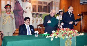 جسٹس (ر) سعید الزماں صدیقی نے گورنر سندھ کے عہدہ کا حلف اٹھالیا