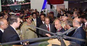 دفاعی ہتھیار بنانے میں پاکستان دنیا کا تیزی سے اُبھرتا ہواملک ہے، وزیر اعظم